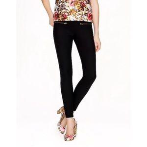 J. Crew Black Minnie Wool Pants trouser Size 4